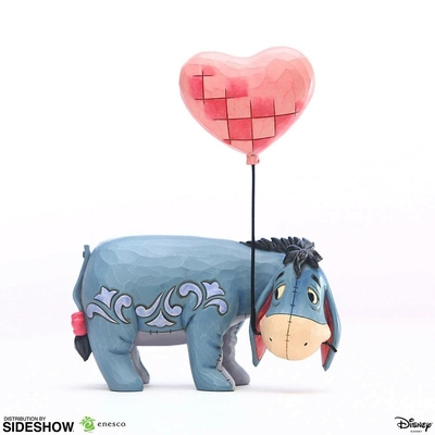 Statuette Disney Eeyore with a Heart Balloon Winnie l'ourson 20cm