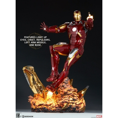 Statue The Avengers Iron Man Mark VII 54cm