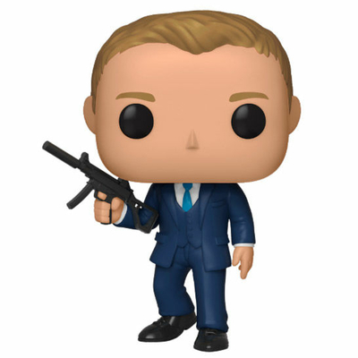 Figurine James Bond Funko POP! Daniel Craig Quantum of Solace 9cm