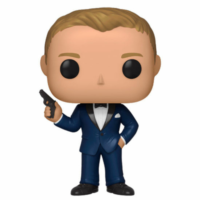 Figurine James Bond Funko POP! Daniel Craig Casino Royale 9cm
