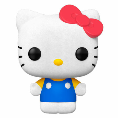 Figurine Hello Kitty Funko POP! Sanrio Hello Kitty Classic Flocked 9cm