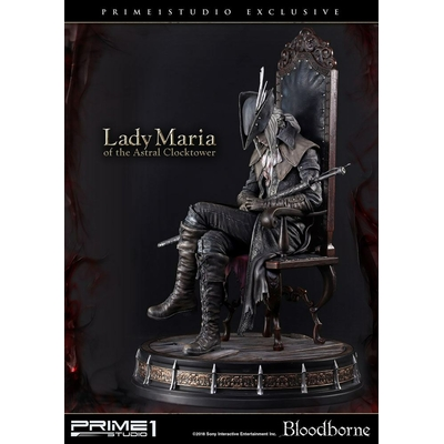 Statue Bloodborne The Old Hunters Lady Maria of the Astral Clocktower P1S Exclusive 50cm