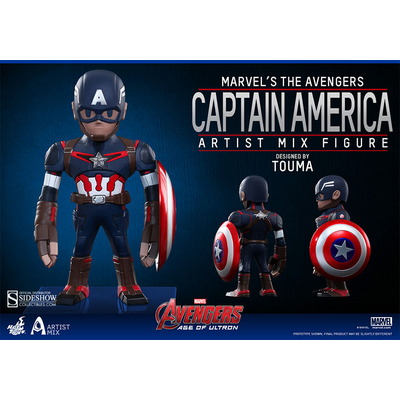 Figurine Bobble Head Avengers L'ère d'Ultron Captain America 14 cm