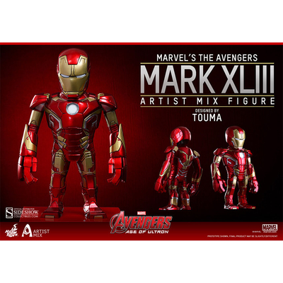 Figurine Bobble Head Avengers L'ère d'Ultron Iron Man Mark XLIII 14 cm