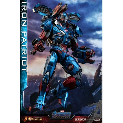 Figurine Avengers Endgame Movie Masterpiece Series Diecast Iron Patriot 32cm