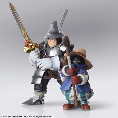 Figurines Final Fantasy IX Bring Arts Vivi Ornitier & Adelbert Steiner 10 - 15cm