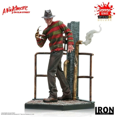 Statuette Nightmare On Elm Street Art Scale Freddy Krueger Deluxe 19cm