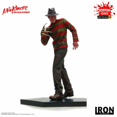 Statuette Nightmare On Elm Street Art Scale Freddy Krueger 19cm