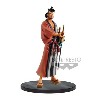 Statuette One Piece DXF Grandline Men Wanokuni Vol. 4 Kin Emon 17cm