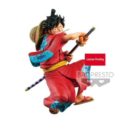 Statuette One Piece King Of Artist Monkey D. Luffy Wanokuni 16cm