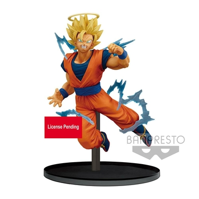 Statuette Dragon Ball Z Dokkan Battle Super Saiyan 2 Goku Angel 15cm
