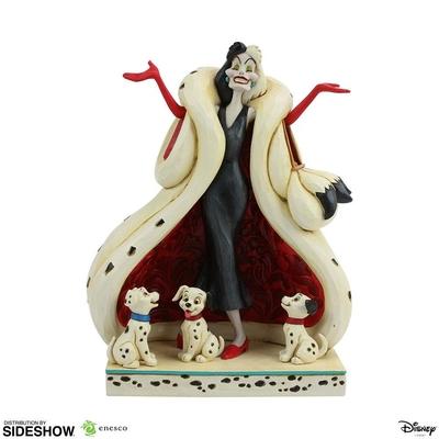 Statuette Disney Les 101 Dalmatiens Cruella De Vil 21cm