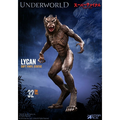 Statuette Underworld Evolution Soft Vinyl Lycan 32cm