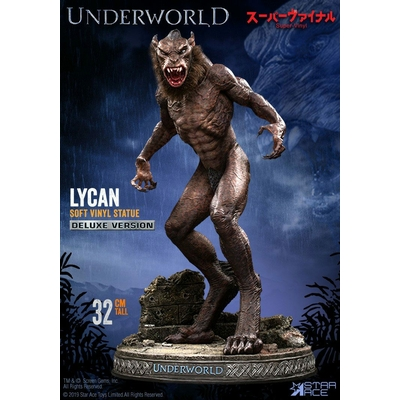 Statuette Underworld Evolution Soft Vinyl Lycan Deluxe Version 32cm
