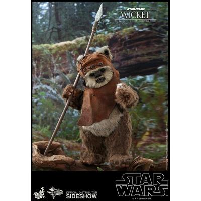 Figurine Star Wars Episode VI Movie Masterpiece Wicket 15cm