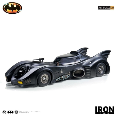 Statuette Batman 1989 Art Scale Batmobile 70cm