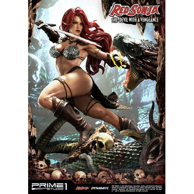 Statue Red Sonja She-Devil with a Vengeance 79cm