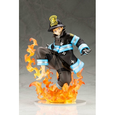 Statuette Fire Force ARTFXJ Shinra Kusakabe 21cm