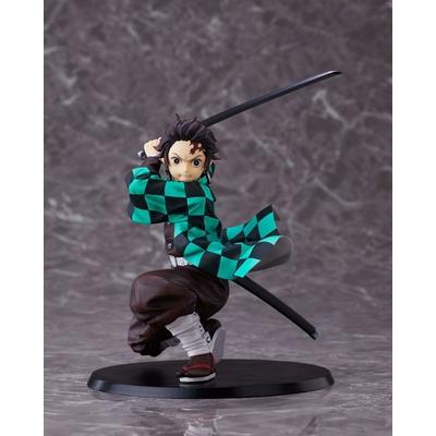 Statuette Demon Slayer Kimetsu no Yaiba Tanjiro Kamado Standard version 17cm