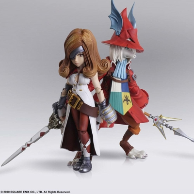 Figurines Final Fantasy IX Bring Arts Freya Crescent & Beatrix 12 - 16cm