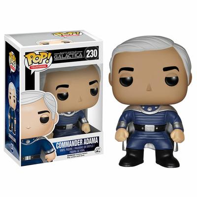 Figurine Battlestar Galactica POP! Commander Adama 9 cm