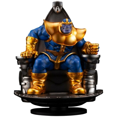 Statuette Marvel Fine Art Thanos on Space Throne 45cm