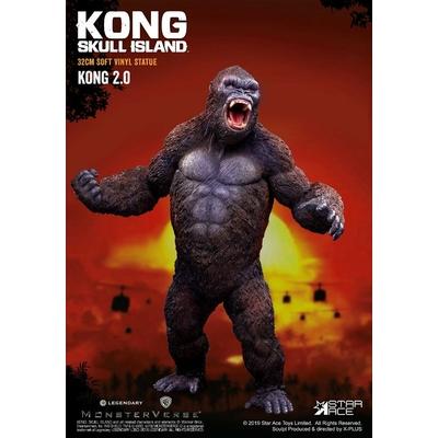 Statuette Kong Skull Island Soft Vinyl Kong 2.0 - 32cm