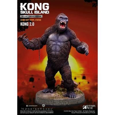 Statuette Kong Skull Island Soft Vinyl Kong 2.0 Deluxe Version 32cm