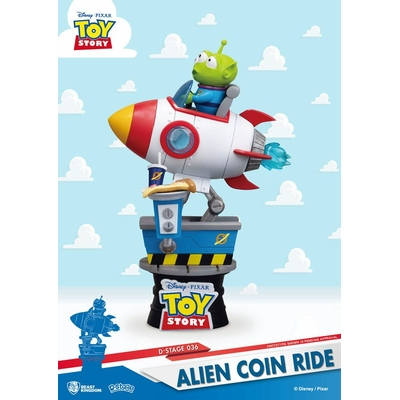 Diorama Toy Story D-Stage Alien Coin Ride 15cm