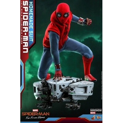 Figurine Spider-Man Far From Home Movie Masterpiece Spider-Man Homemade Suit 29cm