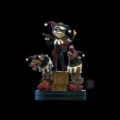 Figurine DC Comics Q-Fig Remastered Harley Quinn 13cm