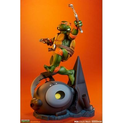 Statue Les Tortues ninja Michelangelo 63cm