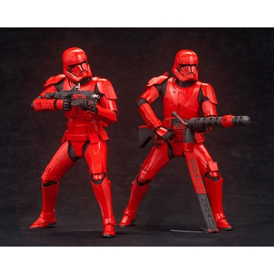 Pack 2 Statuettes Star Wars Episode IX ARTFX+ Sith Troopers 15cm