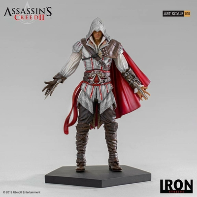 Statuette Assassin's Creed II Art Scale Ezio Auditore 21cm
