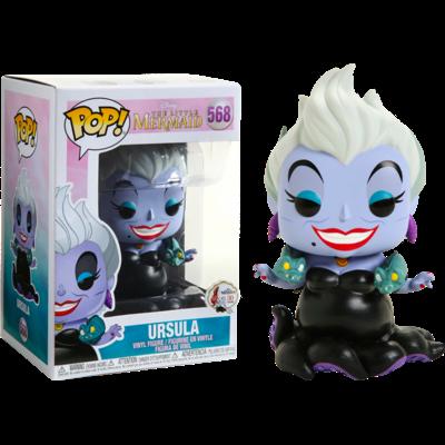 Figurine La Petite Sirène Funko POP! Disney Ursula w/ Eels 9cm