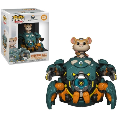 Figurine Overwatch Oversized Funko POP! Games Wrecking Ball 15cm