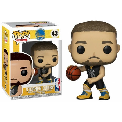 Figurine NBA Funko POP! Sports Stephen Curry Warriors 9cm
