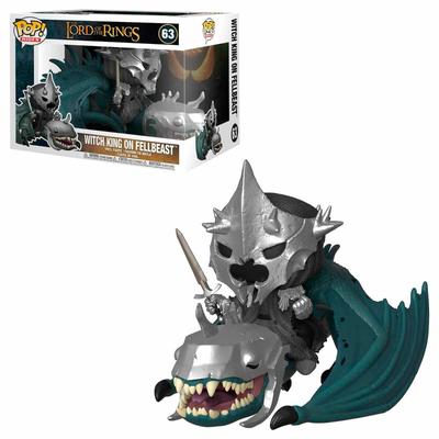 Figurine Le Seigneur des Anneaux Funko POP! Rides Witch King & Fellbeast 15cm