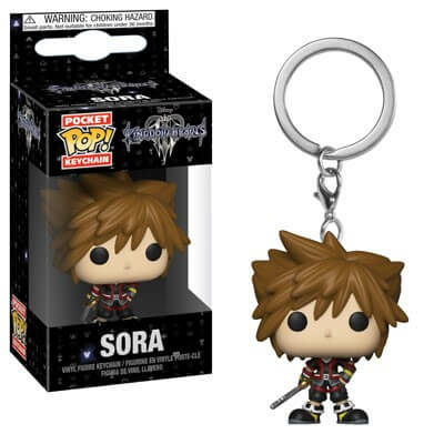 Porte-clés Kingdom Hearts 3 Pocket POP! Sora 4cm