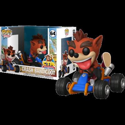 Figurine Crash Team Racing Funko POP! Rides Crash Bandicoot 15cm