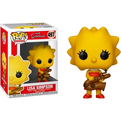 Figurine The Simpsons Funko POP! Lisa with Saxophone 9cm