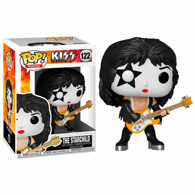 Figurine Kiss Funko POP! Rocks Starchild 9cm