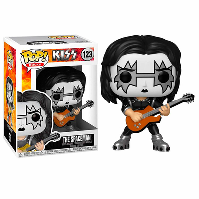 Figurine Kiss Funko POP! Rocks Spaceman 9cm