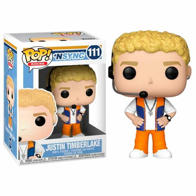 Figurine NSYNC Funko POP! Rocks Justin Timberlake 9cm
