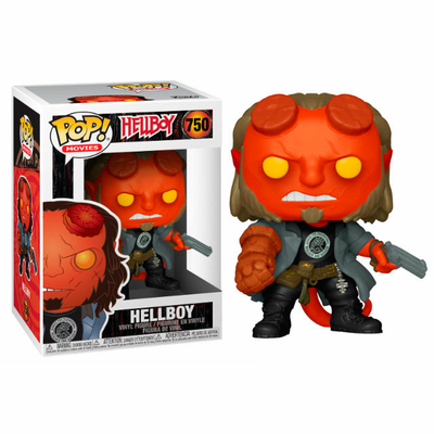 Figurine Hellboy Funko POP! Hellboy with BPRD Tee 9cm