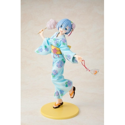 Statuette Re:ZERO Starting Life in Another World Rem Yukata Ver. Repaint 23cm