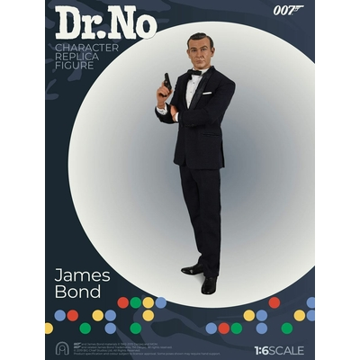 Figurine James Bond 007 contre Dr No Collector Figure Séries James Bond Limited Édition 30cm