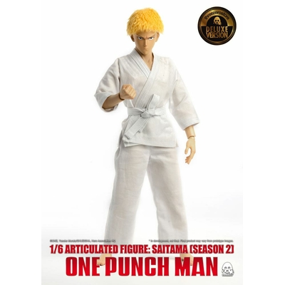 Figurine One Punch Man Saitama Saison 2 Deluxe Version 30cm
