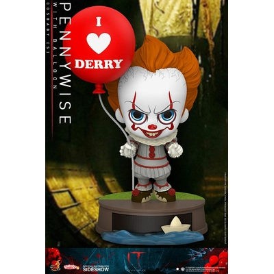 Figurine Ça Chapitre 2 Cosbaby Pennywise with Balloon 11cm