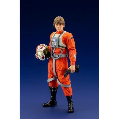 Statuette Star Wars ARTFX+ Luke Skywalker X-Wing Pilot 17cm